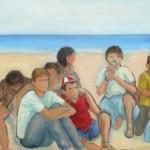 In spiaggia - Antonietta Bellini webdef